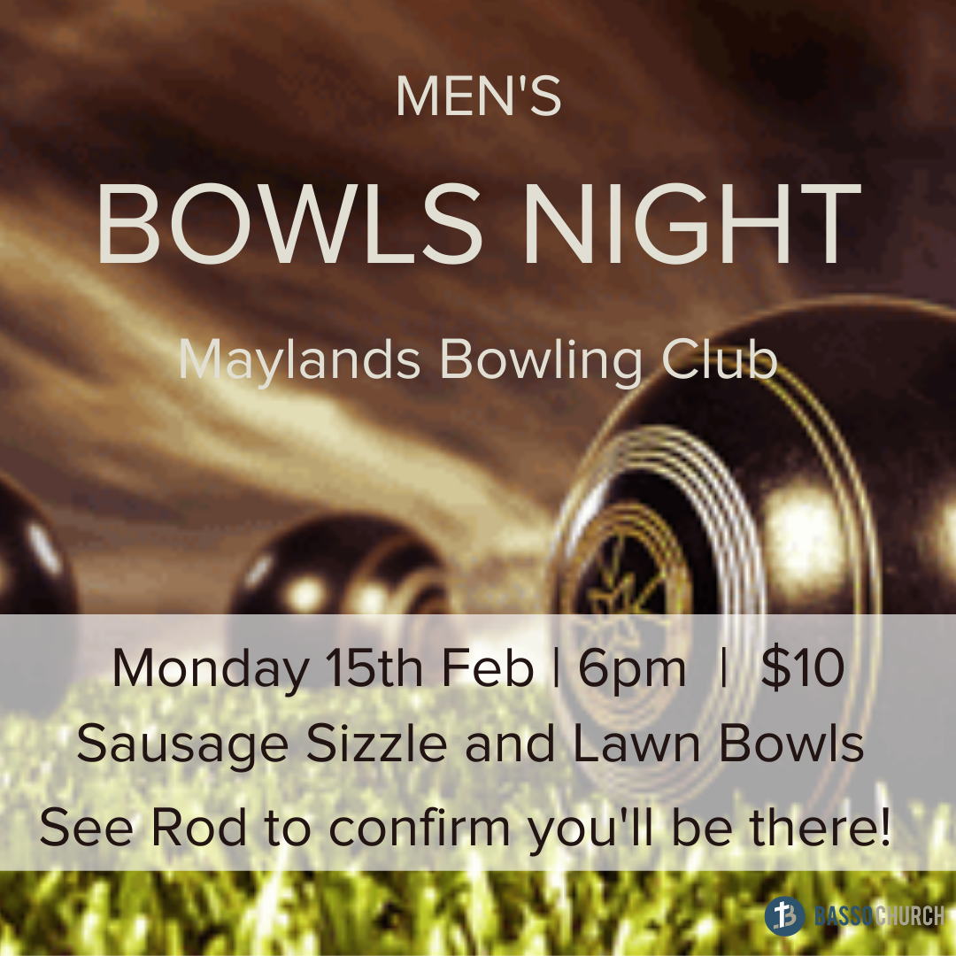 Men's Bowls Night
