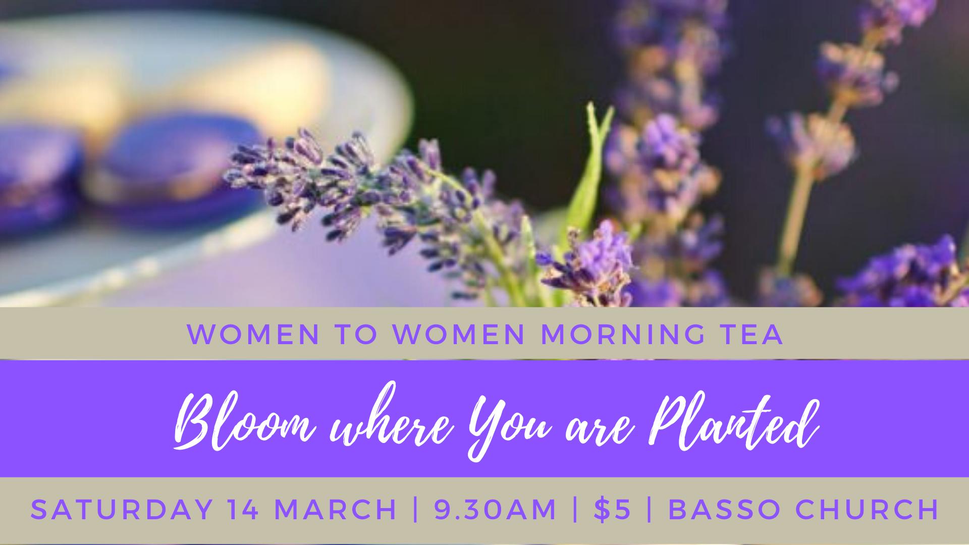 Women's Morning Tea