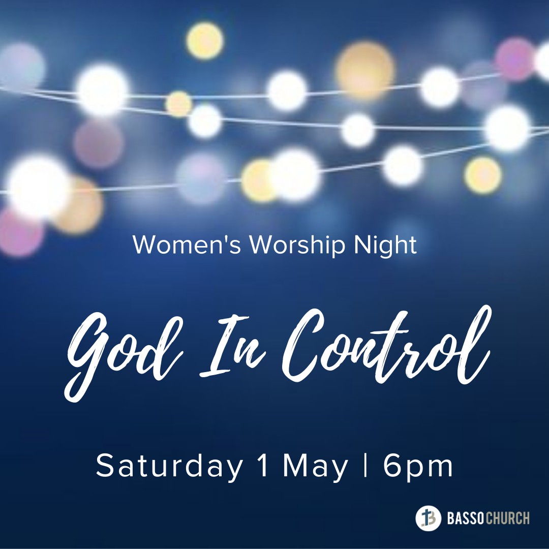 Womens worship night_God In Control